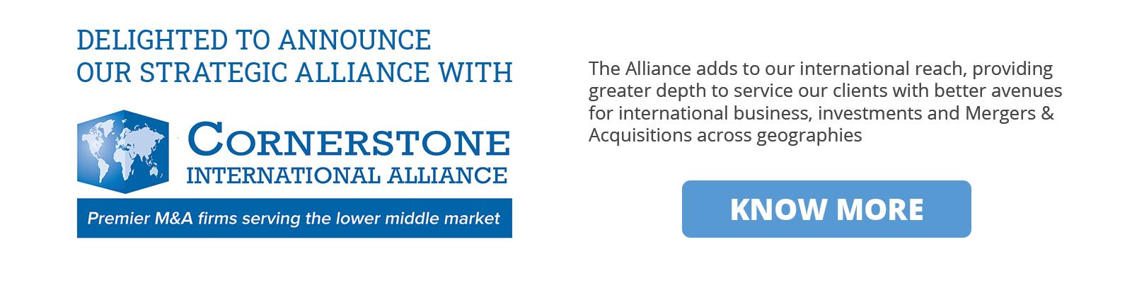 cornerstone affiliated advisory and strategic firm in india